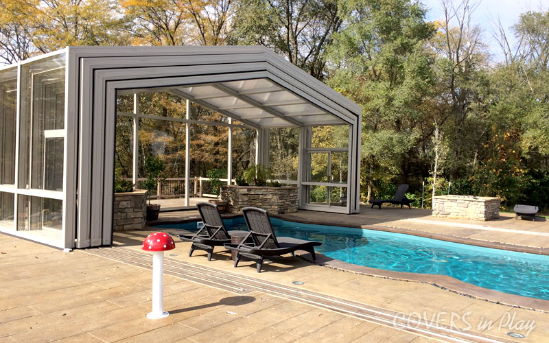 swimming pool enclosure in Canada